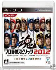 Used PS3 Baseball Spirits 2012 SONY PLAYSTATION 3 JAPAN JAPANESE JAPONAIS IMPORT