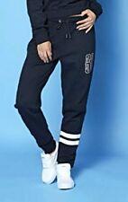 American Freshman Drop Crotch Joggers Jog Pants Jogging Bottoms Black 12 BNWT