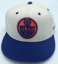 NHL Edmonton Oilers Reebok Adult Structured Flex Fit Cap Hat Beanie NEW!