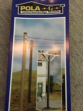 Pola G G 975 Set Of Electrical Poles For Model Railroad Train Set 4 Poles