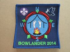 Bowlander 2014 Cloth Patch Badge Boy Scouts Scouting L5K E
