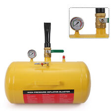 Air Tire Bead Seater Blaster Inflator Tire, 10 Gallon, Yellow