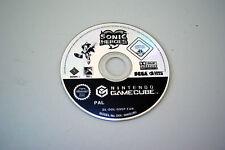 Jeu SONIC HEROES sur Nintendo Game Cube GC (CD SEUL, remis à neuf)