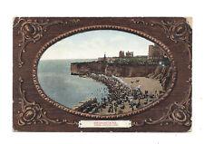 Vintage postcard Broadstairs, Sands looking West. pmk Broadstairs Station 1907