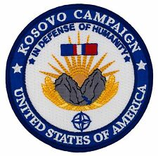 """Kosovo Campaign Patch (511) 4"""" Round Embroidered Patch 52263"""