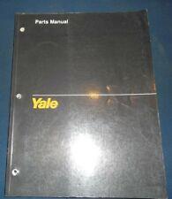 YALE OS 030 EA 3000LB FORKLIFT LIFT TRUCK PARTS MANUAL BOOK CATALOG 1527