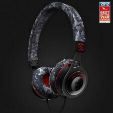 Scosche RH656M-Camo On-Ear Headphones with tapLINE Remote & Mic (Camo) +Picks