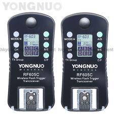 Yongnuo RF-605 Wireless Flash Trigger for Canon 400D 350D 300D 60D 50D 40D 30D