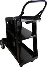 Welding Cart MIG TIG ARC PLASMA Welder Trolley with a shelf for a gas bottle