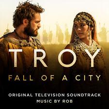 Rob - Troy: Fall of a City (Original TV Soundtrack) - New CD - Pre Order 13/4