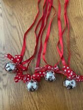 Sterling silver Sleigh Bells Christmas Decoration - Braybrook & Britten