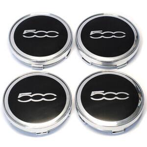 FIAT 500 60mm Car Wheel Center Caps Hub Emblem Badge Cap Abarth Logo 4pcs 60