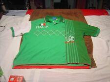 ITALIA 15 POLO TEAM REGGIO DI CALABRIA Green Polo Shirt Size 2 XL