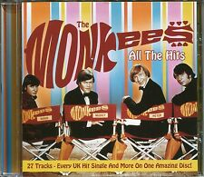 THE MONKEES CD ALL THE HITS - 27 TRACKS EVERY UK HIT SINGLE & MORE