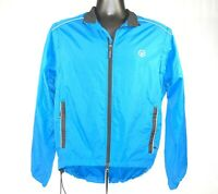 Canari Cycle Jacket Wind Shirt Size Small Polyester Convertible Blue with Black