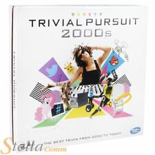 Hasbro TRIVIAL PURSUIT década de 2000 Now preguntas Edición Juego mesa familiar