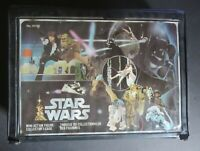 "STAR WARS VINTAGE 1977 KENNER ""CANADIAN"" BILINGUAL ACTION FIGURE CASE"