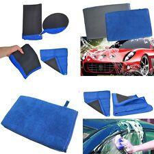 2PCS Nano Clay Mitt Cloth Car Care Cleaning Towel Microfiber Sponge Pad -New