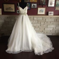 Mori Lee Wedding Dress/Gown 2679 Crystal Beaded Embroidery on Silky Organza 10