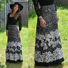 Cotton Blend Hippy Vintage Skirts for Women