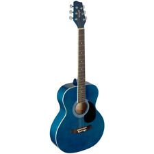NEW Stagg SA20A Full Size Auditorium Style Acoustic Guitar - Blue