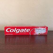 4x Colgate CinnaMint Cinnamon Sparkling White Gel Toothpaste Whitening 6.4oz