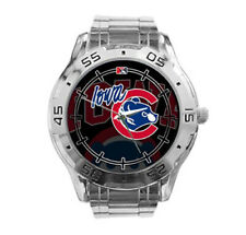 Iowa Cubs MiLB Stainless Steel Analogue Men's Watch Gift