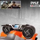 "New Pyle PLATV520 Dual 6.5"" 500W ATV/Marine Amplified Tube Speaker System w/Aux"