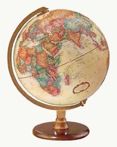 Replogle Hastings Desktop Globe, Antique