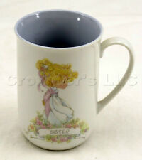 Vintage Precious Moments 1989 Sister Lifetime of Memories Coffee Mug