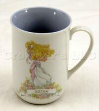Vintage Precious Moments 1989 Sister Lifetime of Memories Coffee Mug