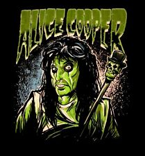 ALICE COOPER cd lgo Cartoon INKED Official SHIRT MED New oop