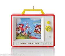 Hallmark 2012  Two Tune TV  Fisher Price Ornament