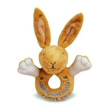 """Kids Preferred 7"""" Plush 'Guess How Much I Love You' HARE LOOP RATTLE ~NEW"""