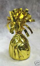 Balloon Weights GOLD Foil birthday party favors 6.2 oz