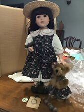 Boyds Bears Resin LAUREL W HYACINTH GARDEN PARTY Polyresin Doll Croquet 4943