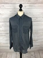 ALLSAINTS Shirt - Size Medium - Blue - Great Condition - Men's