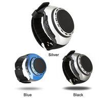 Wearable Smart Watch Bluetooth Speaker Portable Music Player w/ FM Hands-free