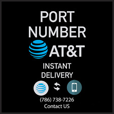 (Bulk Disc) At&T Digital Phone Numbers to Port | Any Zip/Area Code Fast Instant