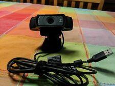 Logitech C920 Carl Zeiss 1080p HD USB Webcamera - Black