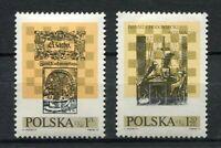 35871) Poland 1974 MNH International Chess Festival 2v