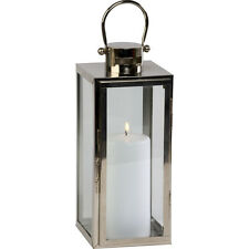Firefly Platinum De Metal De Alto Cuadrado Colgante de suelo Linterna Antorcha sostenedor de vela