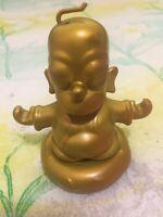 "Homer Simpson Buddha Kidrobot 3"" Figurine Matt Groening Gold"