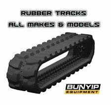 EXCAVATOR RUBBER TRACKS TO SUIT ALL MAKES - KUBOTA BOBCAT CAT CASE YANMAR VOLVO