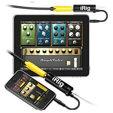IK iRig Multimedia GUITAR midi Interface for ios iPhone/iPod/iPad Pro tools New