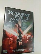 Dvd   Resident evil -2 de mila jovovich
