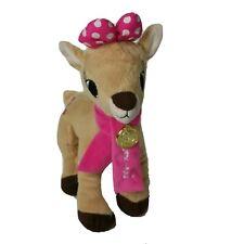"Dan Dee Clarice 13"" Plush Rudolph The Red Nosed Reindeer Girlfriend 50 Year"
