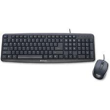 "Verbatim Keyboard/Mouse Corded USB 5-3/4""x17-1/2""x1"" BK 99202"