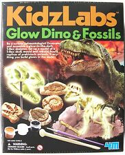 Scava una brillano al buio T REX SCHELETRO E MUFFA fossili Replicas-NUOVO E SIGILLATO!