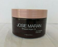 Josie Maran Whipped Argan Oil Body Butter Unscented Jumbo 19 oz. Sealed